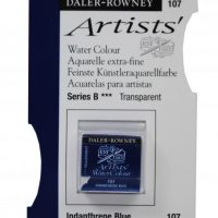 acuarela - 130 015 107 - Artists Watercolour Half Pans Indanthrene Blue