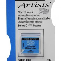 acuarela - 130 015 109 - Artists Watercolour Half Pans Cobalt Blue