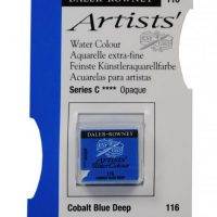 acuarela - 130 015 116 - Artists Watercolour Half Pans Cobalt Blue Deep