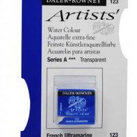 acuarela - 130 015 123 - Artists Watercolour Half Pans French Ultramarine