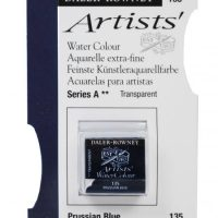 acuarela - 130 015 135 - Artists Watercolour Half Pans Prussian Blue