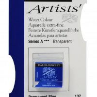 acuarela - 130 015 137 - Artists Watercolour Half Pans Permanent Blue