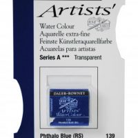 acuarela - 130 015 139 - Artists Watercolour Half Pans Phthalo Blue RS