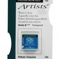 acuarela - 130 015 154 - Artists Watercolour Half Pans Phthalo Turquoise