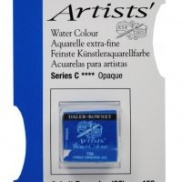 acuarela - 130 015 156 - Artists Watercolour Half Pans Cobalt Turquoise GS