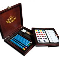 Set creioane acuarelabile Artist Premier Royal & Langnickel RSET-WPEN1600 Royal
