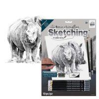 Set-schite,-Royal-Langnickel,-14-–-Rhino-Pair