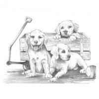 Set-schite-Royal-and-Langnickel-10-–-Puppies-&-Wagon