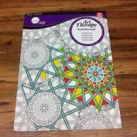 carte de colorat pentru adulti Simply Art Therapy Kaleidoscope