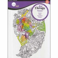 Carte de colorat pentru adulti Daler-Rowney Art Therapy Nature