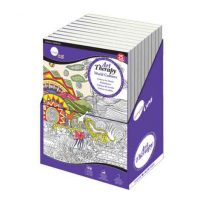 Carte de colorat pentru adulti Daler-Rowney Art Therapy World Cultures