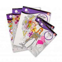 Carti de colorat Daler-Rowney pentru adulti diferite modele