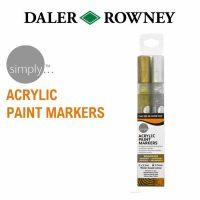 Set 2 markere acrilice pentru pictura