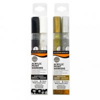 Set markere acrilice Daler-Rowney