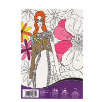 Carte de colorat Daler-Rowney Art Therapy - FashionA5