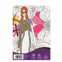 Carte de colorat Daler-Rowney Art Therapy - FashionA5