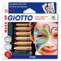 Set creioane Giotto Make Up pentru pictura pe fata