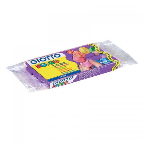 Plastilina GIOTTO PONGO 250 gr violet