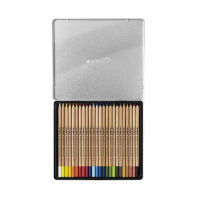 Cutie metalica Lyra creioane colorate Rembrandt Polycolor 24 piese