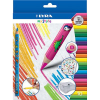 Set 10 creioane personalizabile LYRA My Style