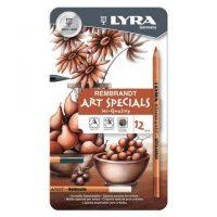 Set profesional cutie metalica Lyra Rembrandt Art Specials 12 piese