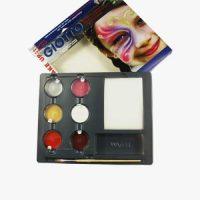 Set culori machiaj pentru copii Giotto Metal Glamour