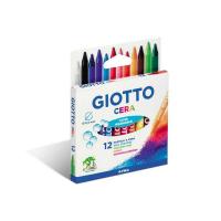 Set creioane pastel Giotto Cera 12 piese
