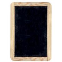 Tabla de scris din ardezie cu rama lemn Giotto 24x34 cm