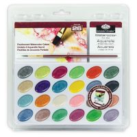 Pearlescent Watercolor set royal and langnickel pentru pictura