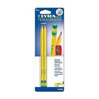 Set 2 creioane H LYRA TEMAGRAPH cu ascutitoare