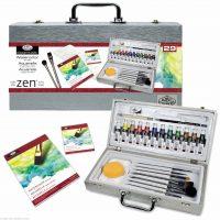 Trusa culori acuarela Zen Royal & Langnickel 29 piese