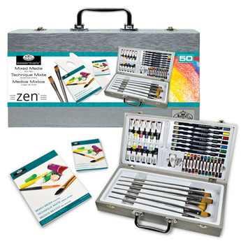 Set de pictura multimedia Essentials Zen Royal & Langnickel -50 piese