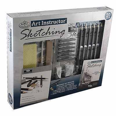 Set schite Art Instructor Royal&Langnickel 20 piese