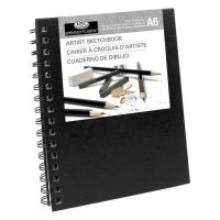 Sketchbook Royal Essentials A6 negru 80 coli