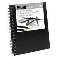 Sketchbook Royal Essentials A6 negru 80 coli