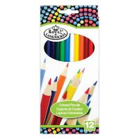 Set 12 creioane colorate Royal Langnickel RTN-154