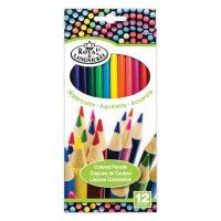Set 12 creioane colorate acuarelabile Royal