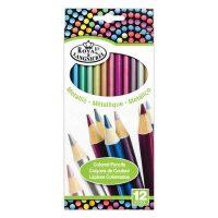Set 12 creioane in culori metalice Royal RTN-157