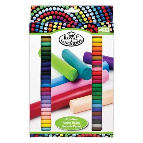 Set 48 pasteluri uleioase CoolArt Royal & Langnickel