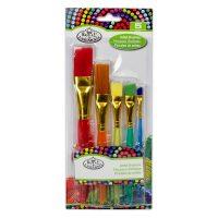 Set 5 pensule asortate Cool Art 4 Royal & Langnickel