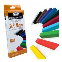 Set-12-pasteluri-cretate-Royal-&-Langnickel-–-culori-asortate