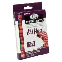 Set 12 pasteluri uleioase standard profesionale Artist Royal & Langnickel