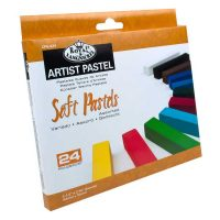 Set-24-pasteluri-cretate-Royal-&-Langnickel--culori-asortate