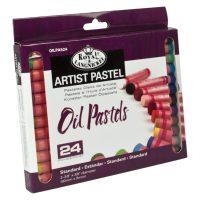 Set 24 pasteluri uleioase profesionale standard Artist Royal & Langnickel