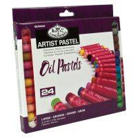 Set 24 pasteluri uleioase large size Artist Royal & Langnickel
