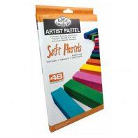 Set-48-pasteluri-cretate-Royal-&-Langnickel--culori-asortate