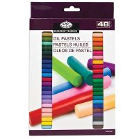 Set 48 pasteluri uleioase standard size Artist Royal & Langnickel