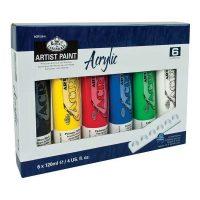 Set culori acrilice 6x120ml Royal & Langnickel pentru pictura