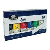 Set culori acrilice 6x75ml Royal & Langnickel pentru pictura