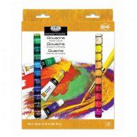 Set culori guase 24x12ml Royal & Langnickel Essentials